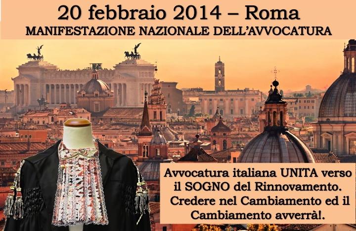 Manifestazione del 20 febbraio roma