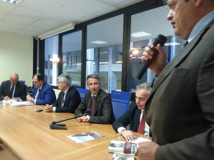 Marco De Marco, Avv. Alfredo Guarino, Claudio Martelli, Avv. Marino Iannone, Avv. Francesco Caia, Avv. Vincenzo Improta
