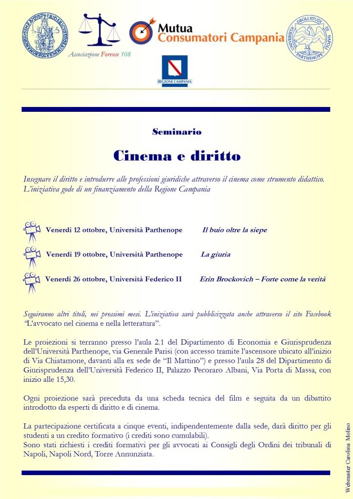 Locandina Cinema e Diritto