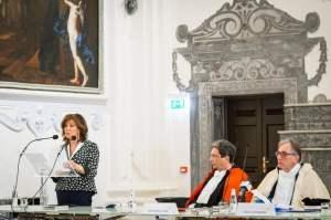 Discorso Casellati con Corbi e d'Alessandro